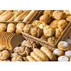 Assortment of baked products