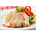 Chicken breast with green salad