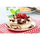 Sweet cream cheese pancakes