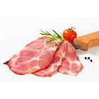 Thin slices of smoked pork