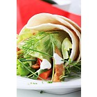 Vegetarian wrap sandwich