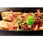 Pan fried fish fillets