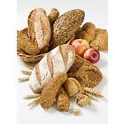 Variety of brown bread