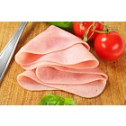 Thinly sliced ham