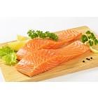 raw salmon fillets