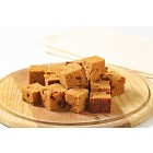 Diced gingerbread cake