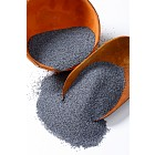 Scoop of poppy seeds