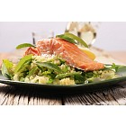 Salmon fillet with couscous salad
