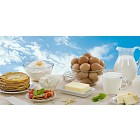 Pancakes and dairy products