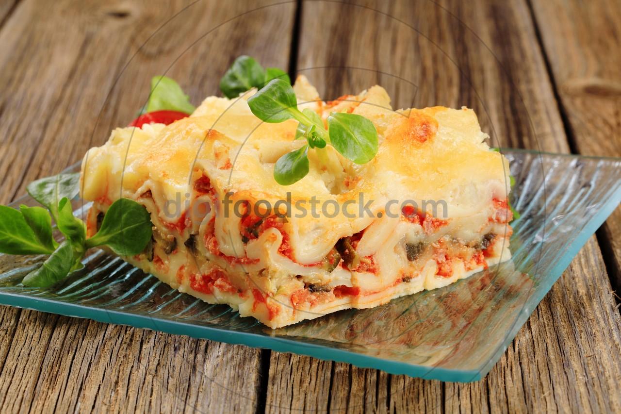 Tasty lasagna