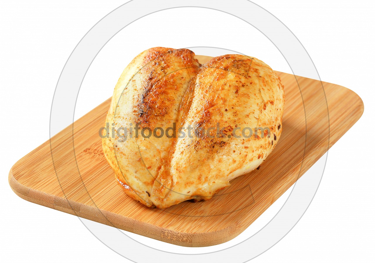 Roasted chicken breast