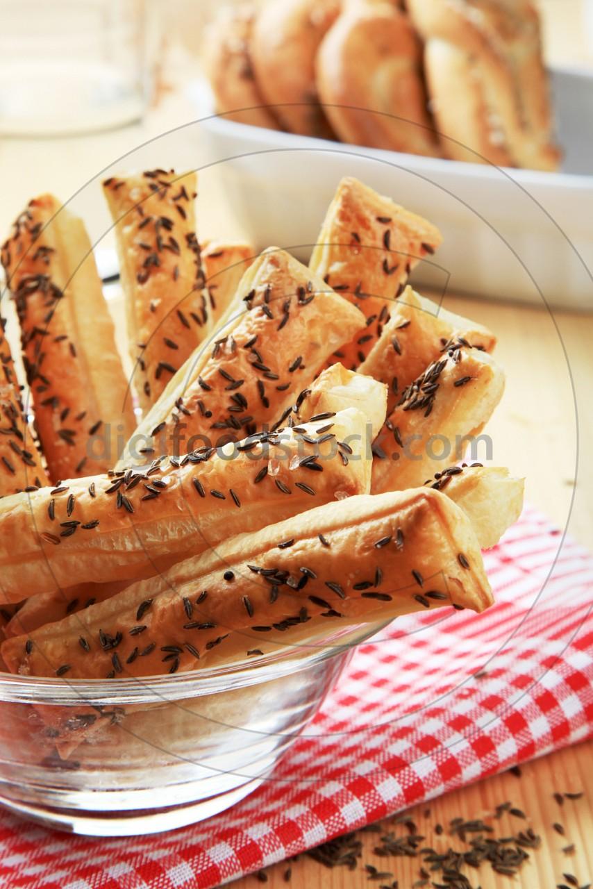 Puff Pastry Straws