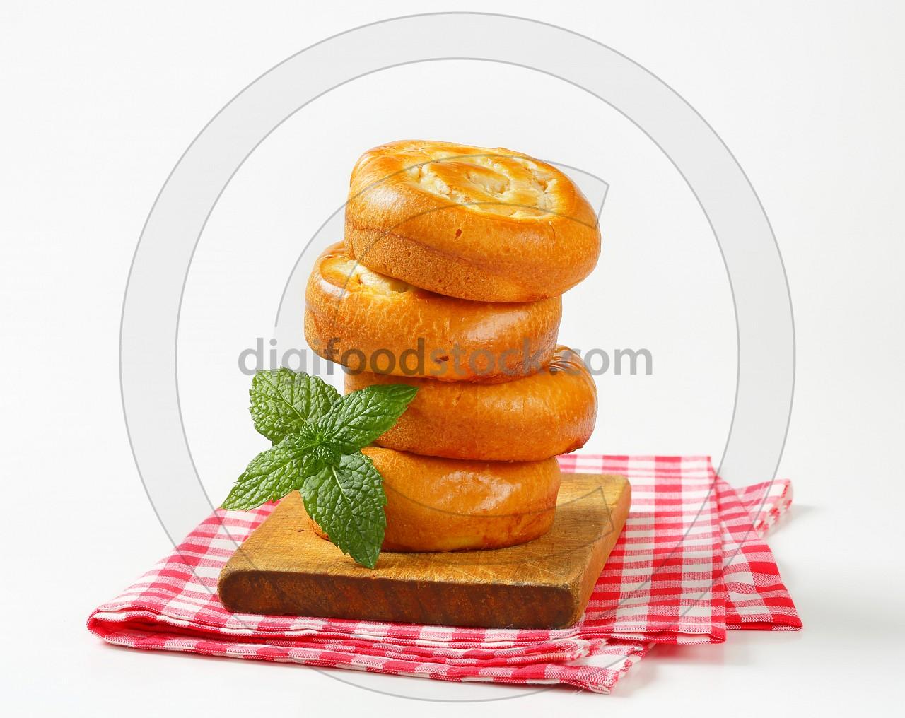 Apple Custard Rolls