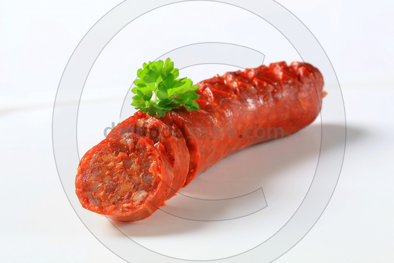 Spicy dry sausage