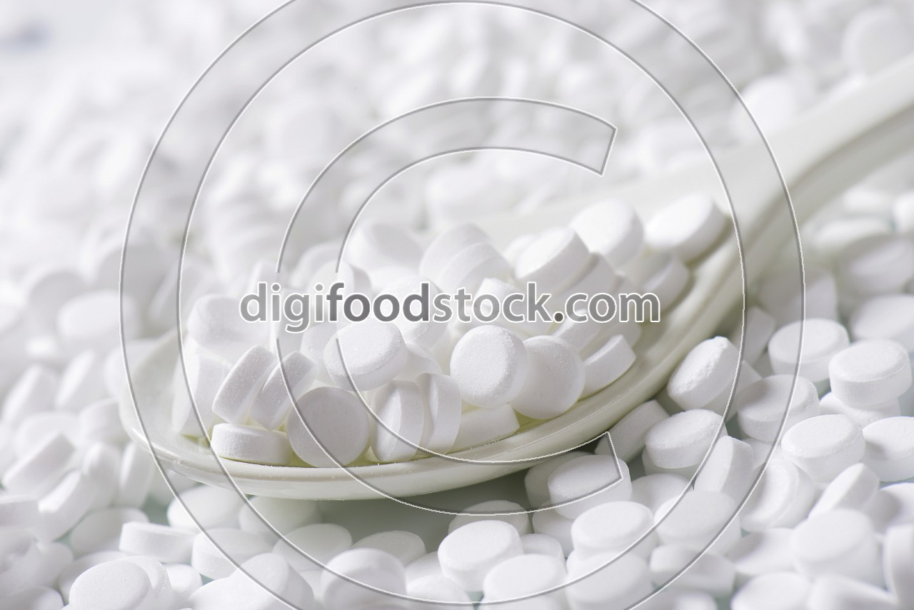 Artificial sweetener tablets