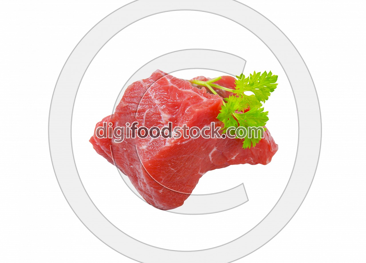 fresh beef meat chunk