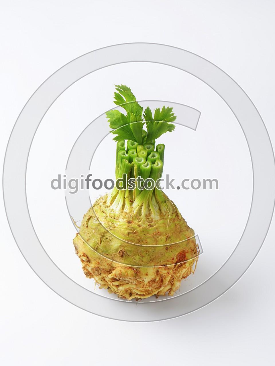 Fresh celeriac