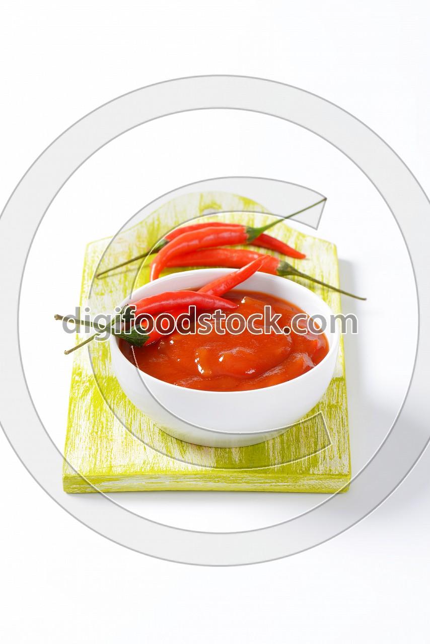 Hot Tomato-Pepper Sauce