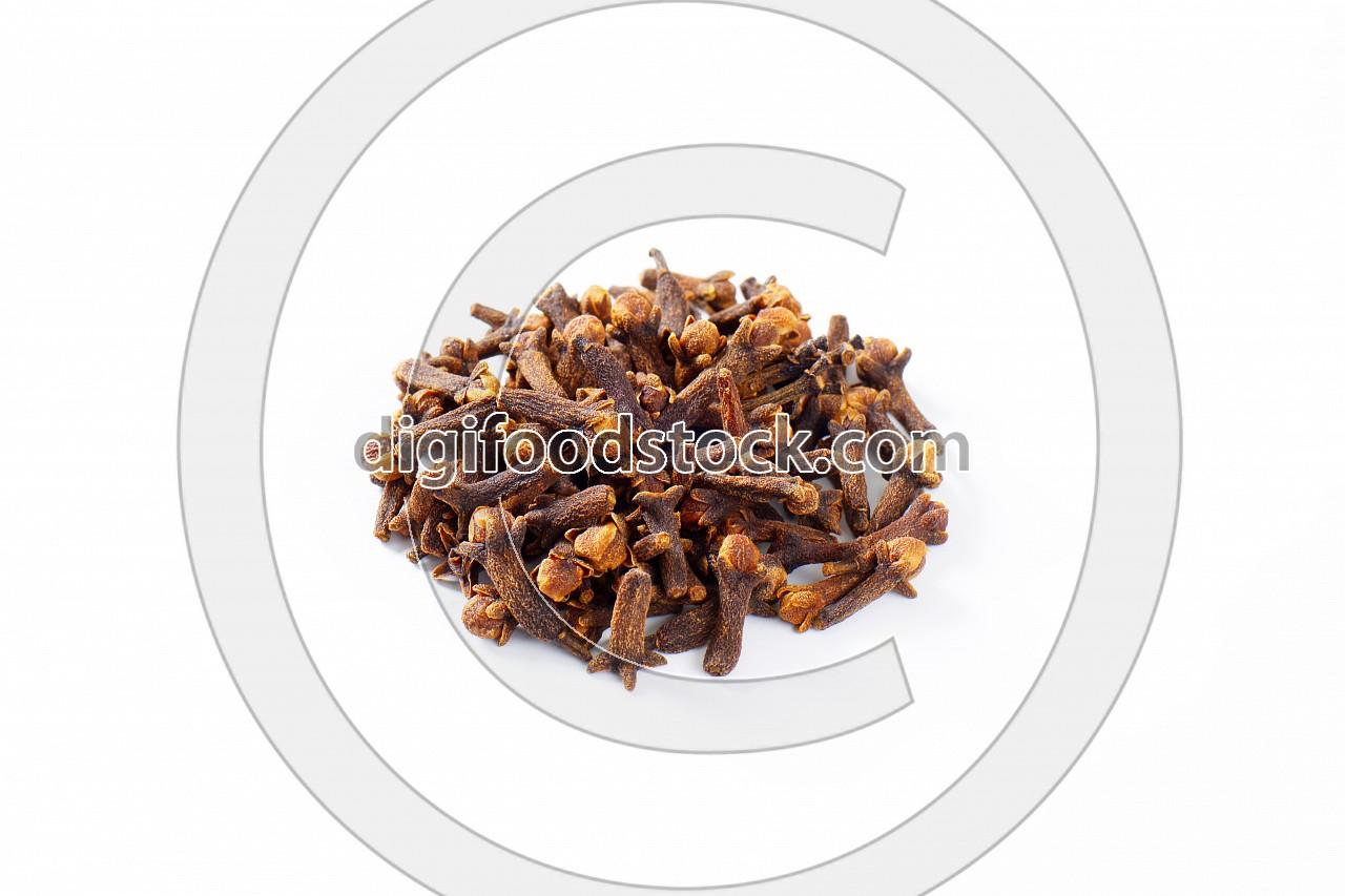 Heap of dried cloves