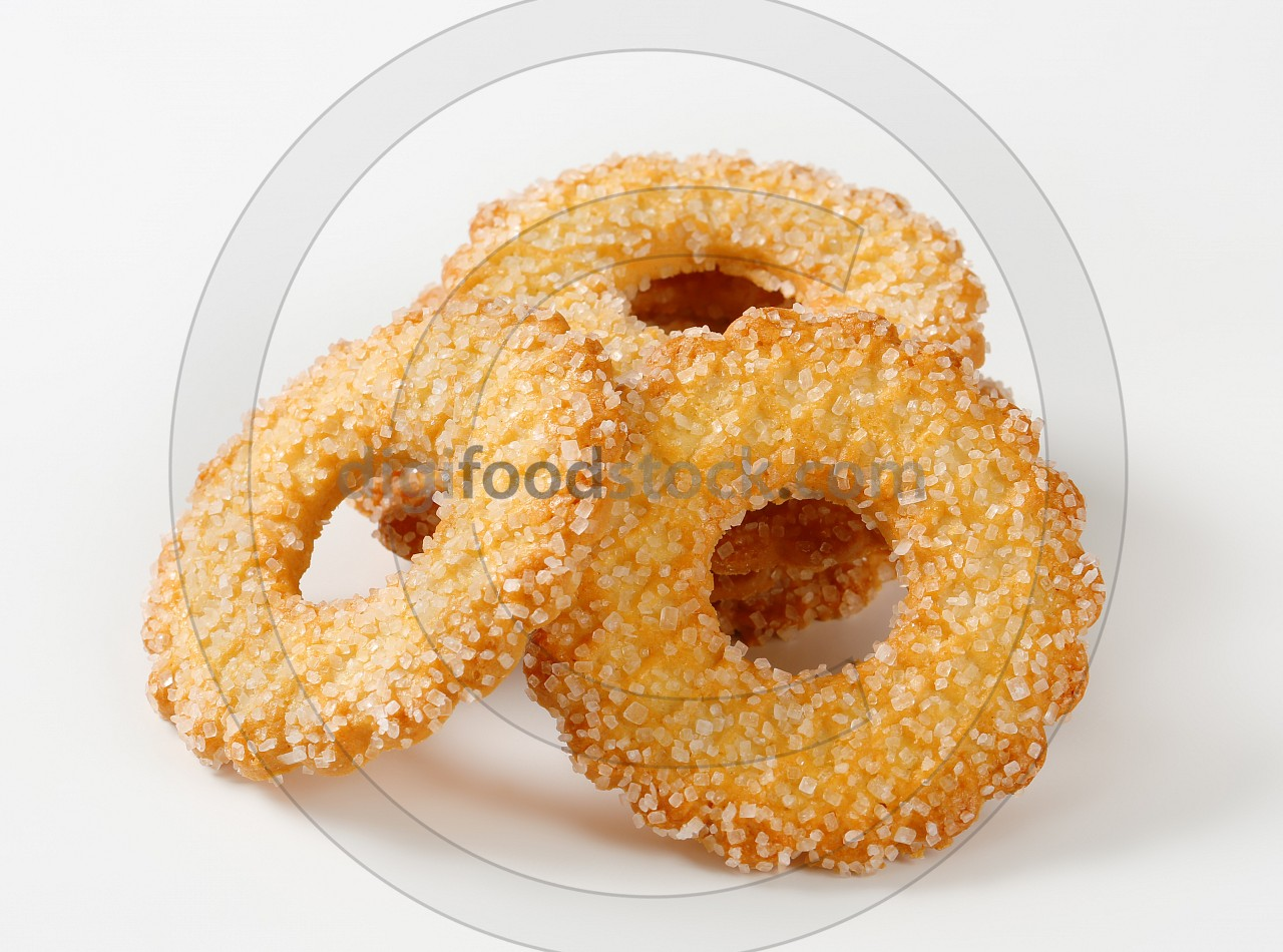 Ring-shaped cookies