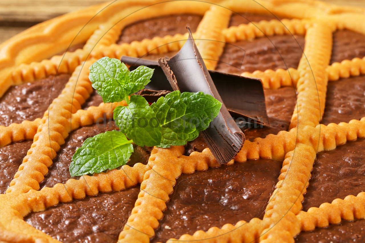 Chocolate crostata