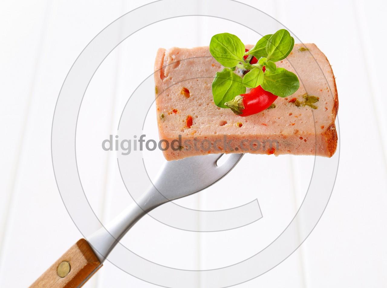 Leberkase - German style meatloaf